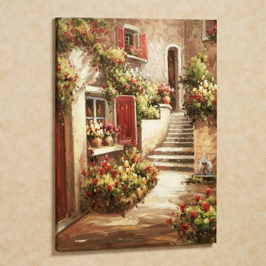 Amazing Italian Wall Art Prints Early Spring Canvas Wall Italian With Regard To Italian Cafe Wall Art (Image 1 of 20)