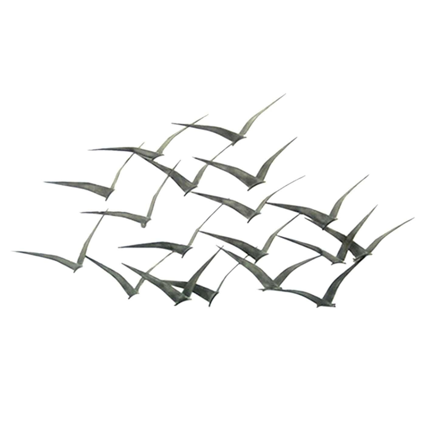 Amazing Metal Wall Art Birds On A Branch Curtis Jere Birds In Throughout Metal Wall Art Birds In Flight (Photo 6 of 20)