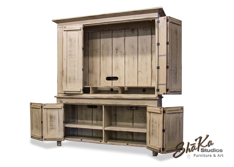 Amazing Of Tv Cabinet With Doors Shaka Studios Custom Furniture Inside 2017 Large Tv Cabinets (View 13 of 20)
