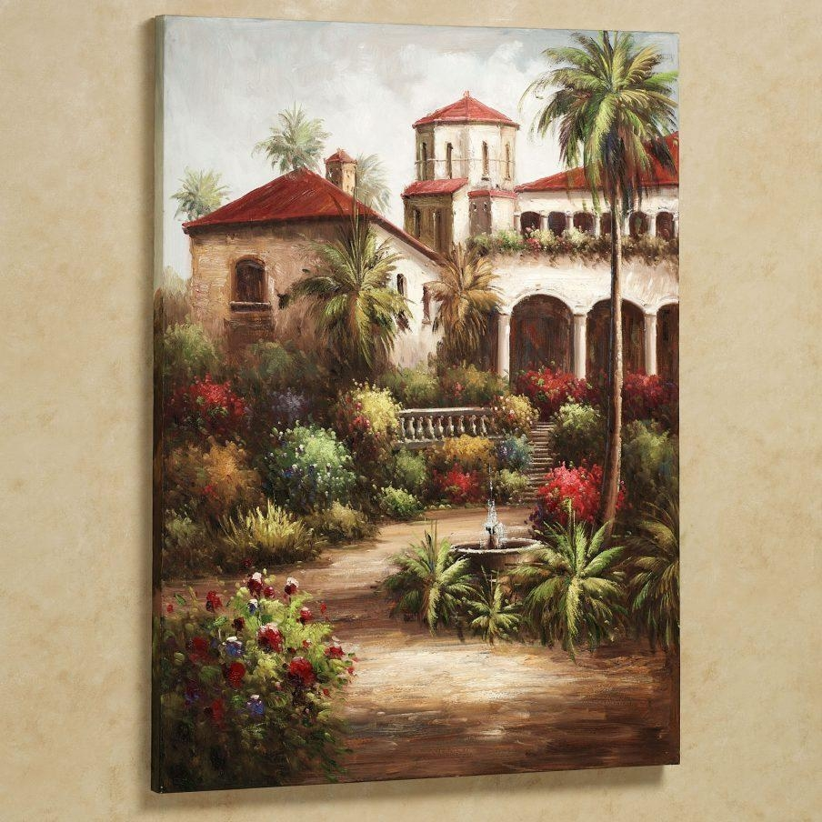 Amazing Tuscan Wall Art Kitchen Tuscan Charm Canvas Wall Wall Pertaining To Framed Italian Wall Art (View 15 of 20)