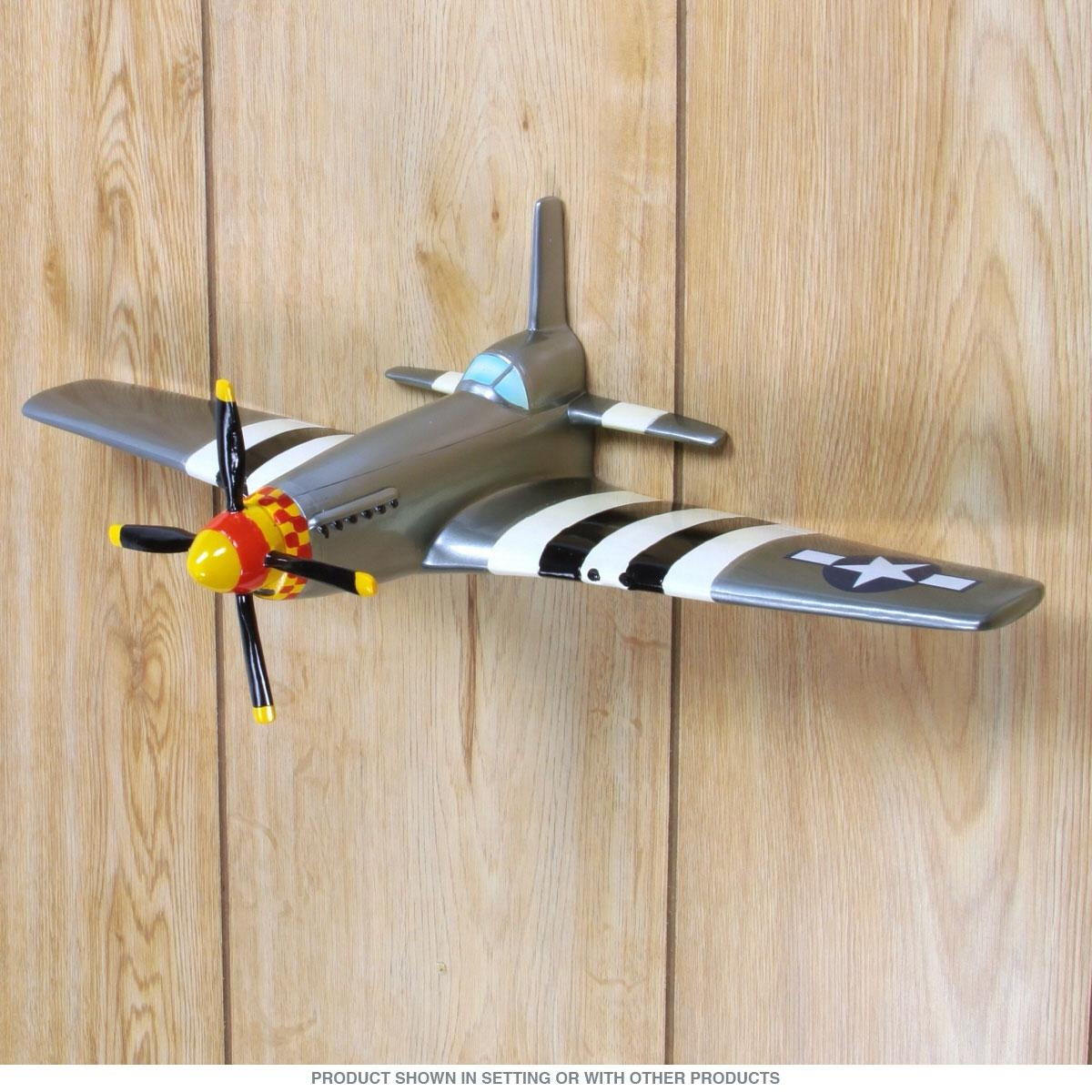 Amazing Vintage Metal Airplane Wall Decor D Airplane Wall Stickers Intended For Metal Airplane Wall Art (View 10 of 20)