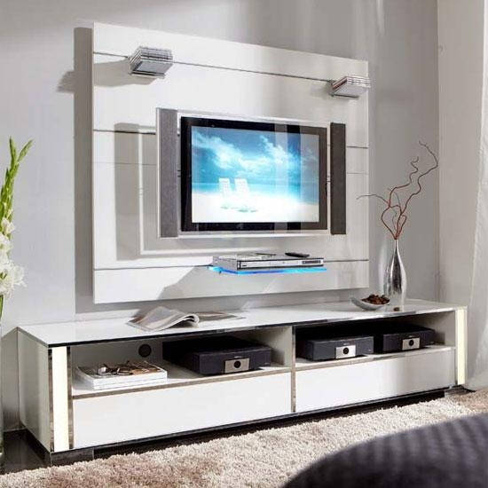 Amazing Wall Mounted Tv Unit 55 Cool Entertainment Wall Units For Regarding Most Current White Wall Mounted Tv Stands (Image 2 of 20)