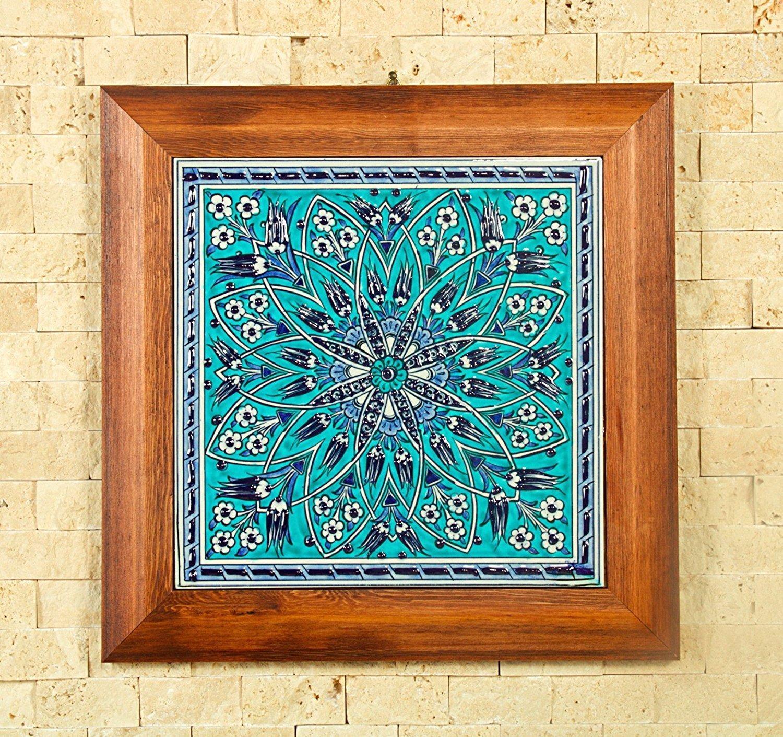 Amazoncom: Handmade Handpainted Turkish Ottoman Design Wall Art Pertaining To Turkish Wall Art (View 9 of 20)