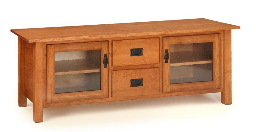 American Mission Plasma Tv Stand From Dutchcrafters Amish Furniture Throughout Newest Maple Wood Tv Stands (View 5 of 20)