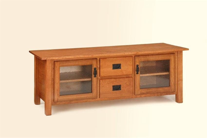 American Mission Plasma Tv Stand From Dutchcrafters Amish Furniture With Most Popular Plasma Tv Stands (Image 2 of 20)