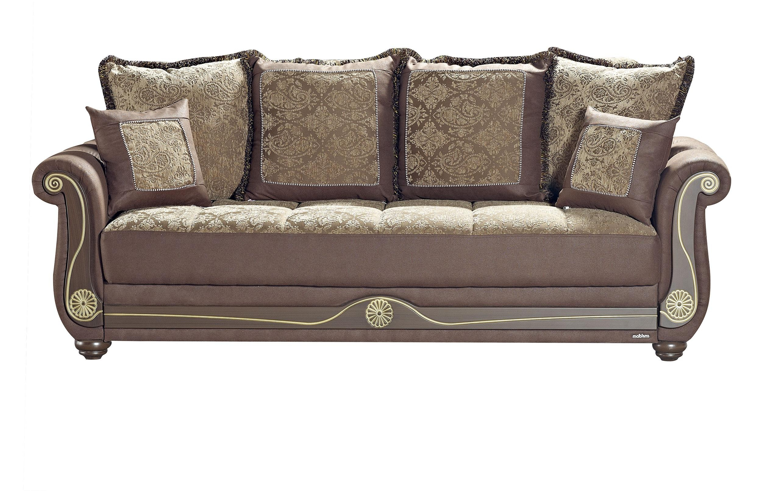 American Style Crown Brown Sofa Bedmobista In American Sofa Beds (View 15 of 22)