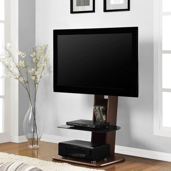 Ameriwood Home Galaxy Tv Stand With Mount For Tvs Up To 50 Inches In 2017 Tv Stand With Mount (Image 2 of 20)