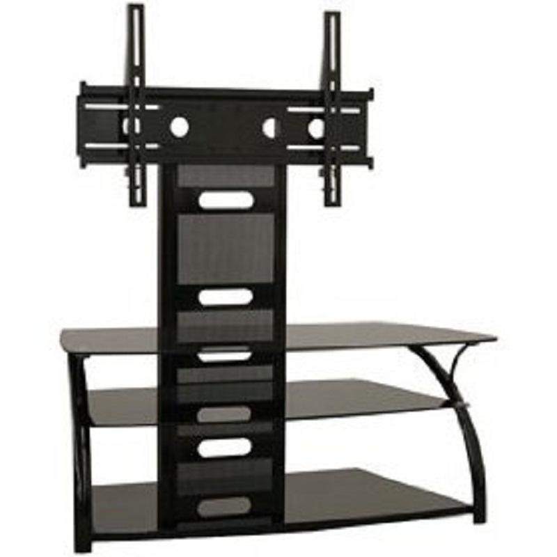 An Overview Of Black Tv Stand With Mount – Furniture Depot With Regard To Latest Tv Stand With Mount (Image 3 of 20)