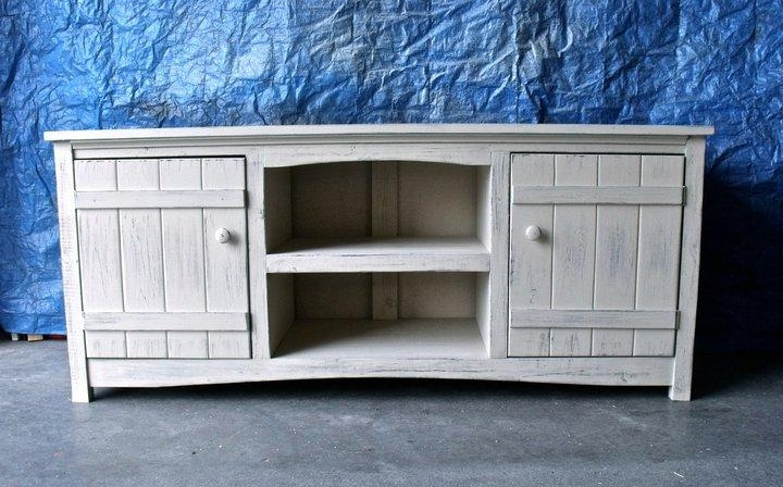 Ana White | Tv Stand – Diy Projects For Newest White And Wood Tv Stands (View 15 of 20)