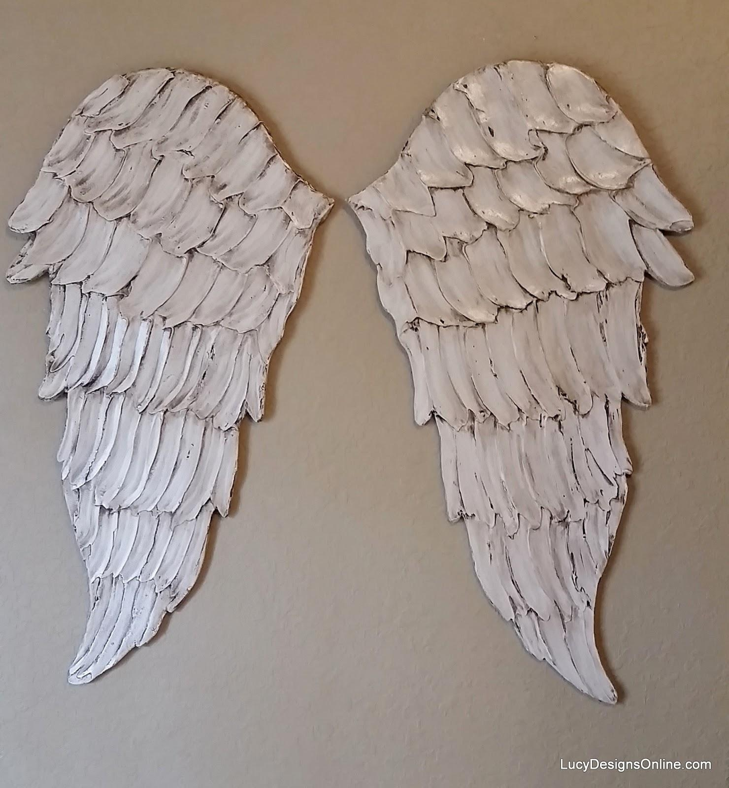 Angel Wings Textured Wood, Wall Art, Carved Wood Look, Angel Wing Inside Angel Wing Wall Art (Image 4 of 20)