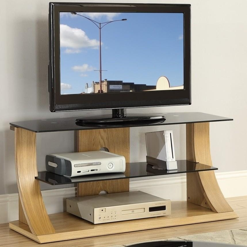 Appealing Design Cherry Wood Tv Stand Ideas Classic Dark Cherry With Regard To Most Up To Date Glass And Oak Tv Stands (Image 7 of 20)