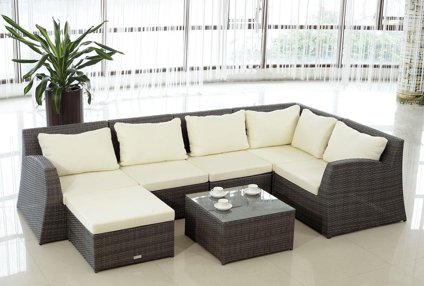 Architectural Design Modern Rattan Outdoor Furniture Architecture Throughout Modern Rattan Sofas (Image 1 of 23)