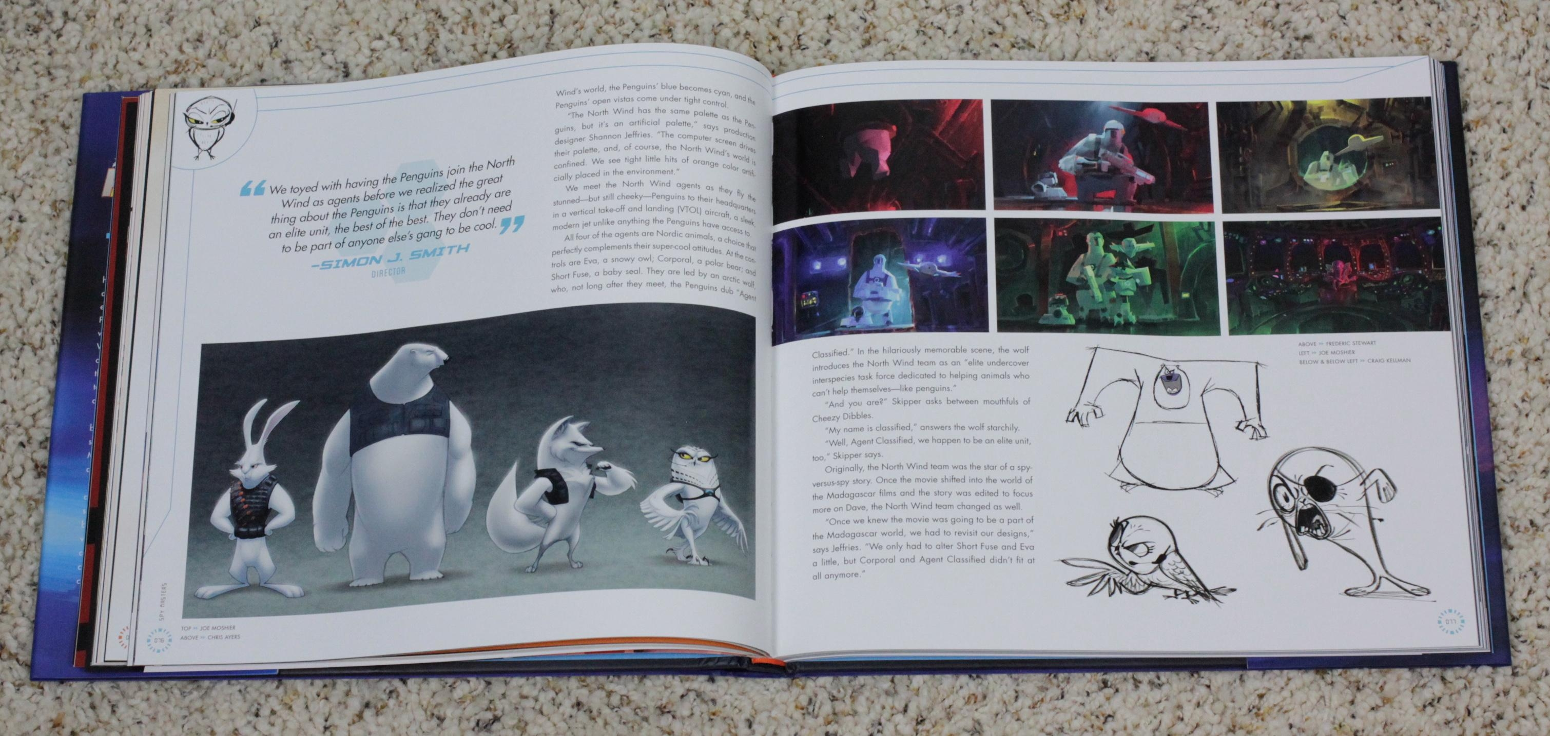 Art Book Review] The Art Of Penguins Of Madagascar | Rotoscopers Inside Penguin Books Wall Art (Image 5 of 20)