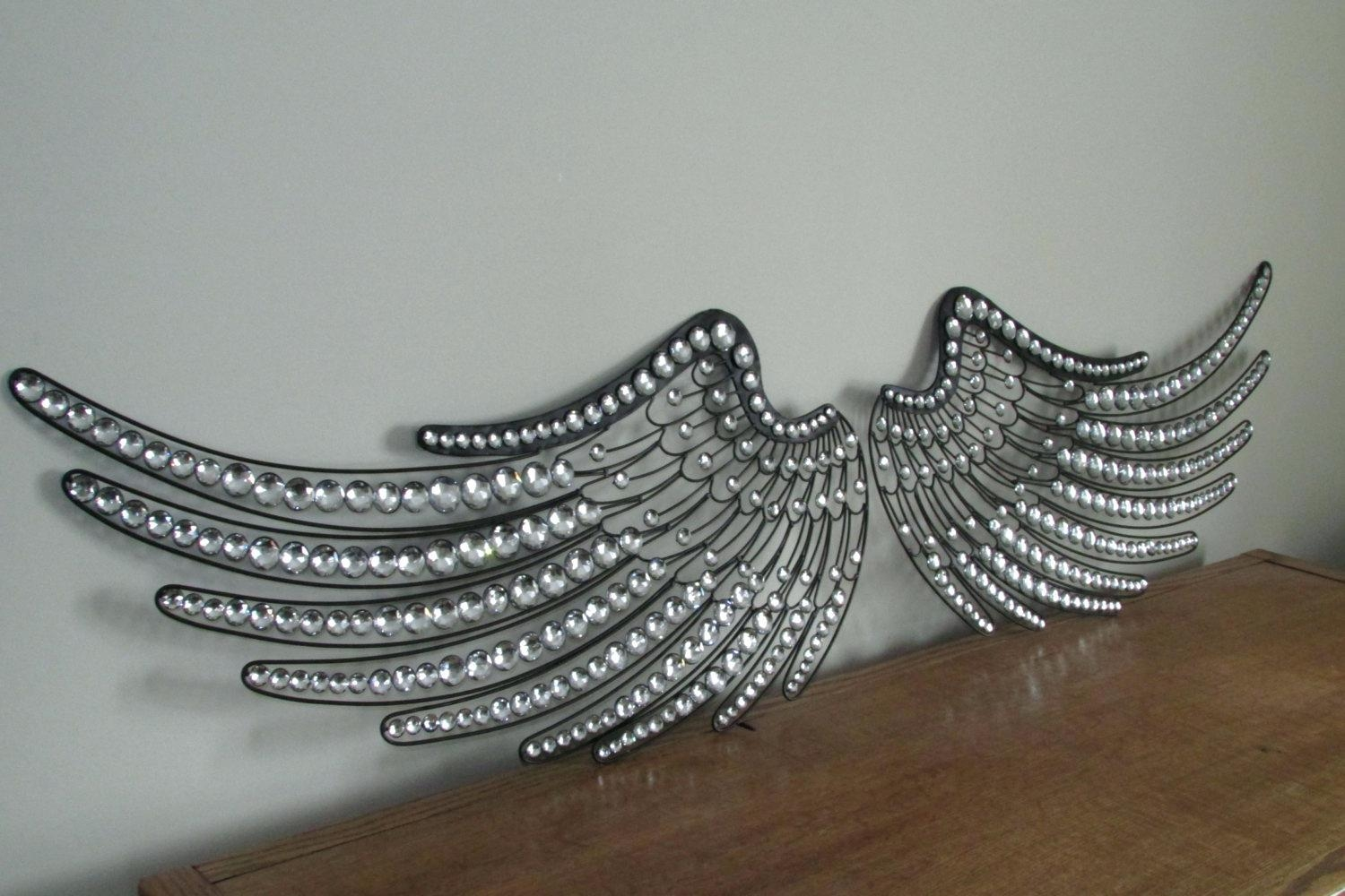 Articles With Angel Wings Wall Decor Canada Tag: Angel Wing Wall Intended  For Angel Wing