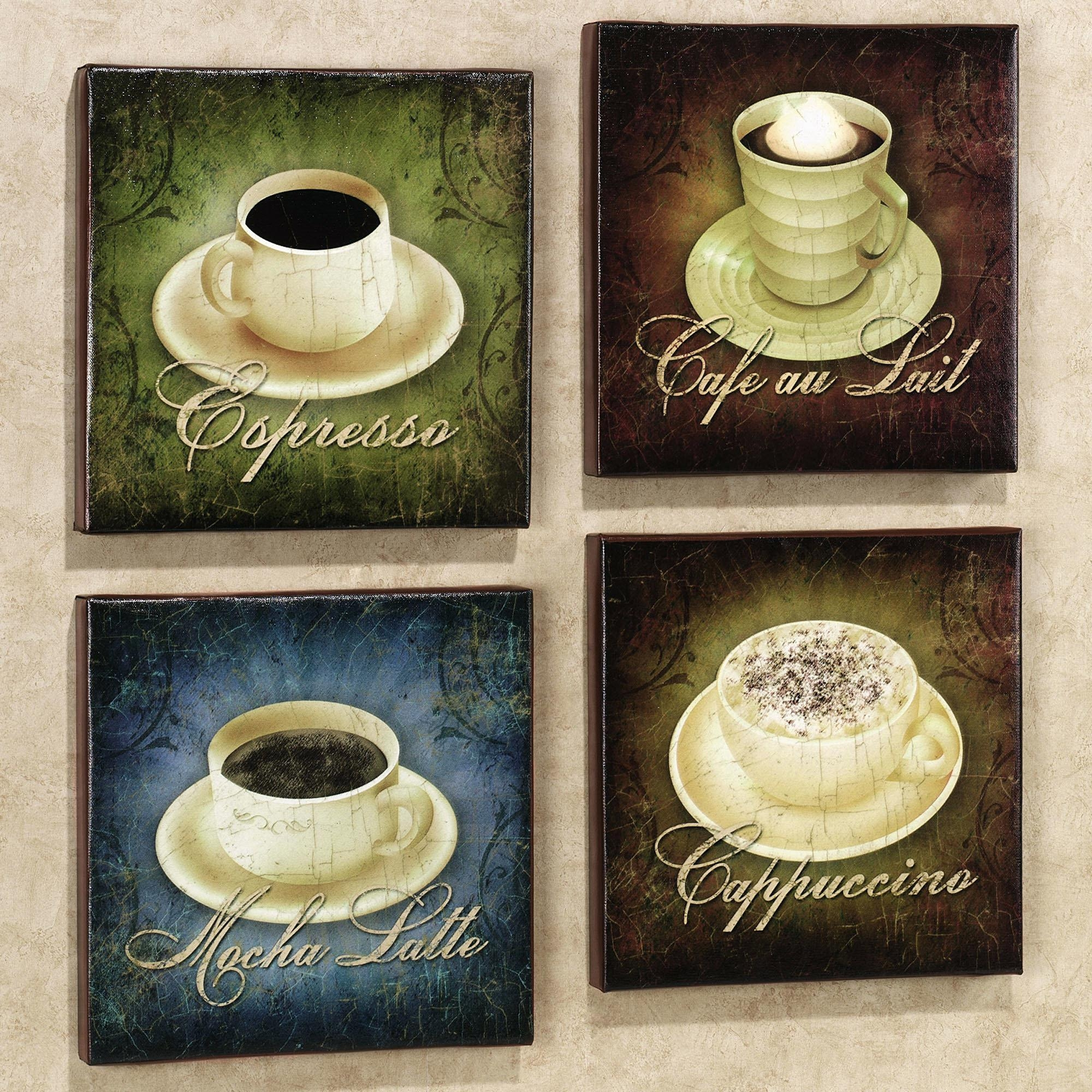 Articles With Coffee Metal Wall Art Decor Tag: Coffee Metal Wall Intended For Metal Wall Art Coffee Theme (Image 3 of 20)