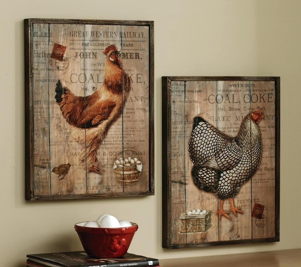 Articles With Country Rooster Wall Art Tag: Rooster Wall Art (Image 1 of 20)