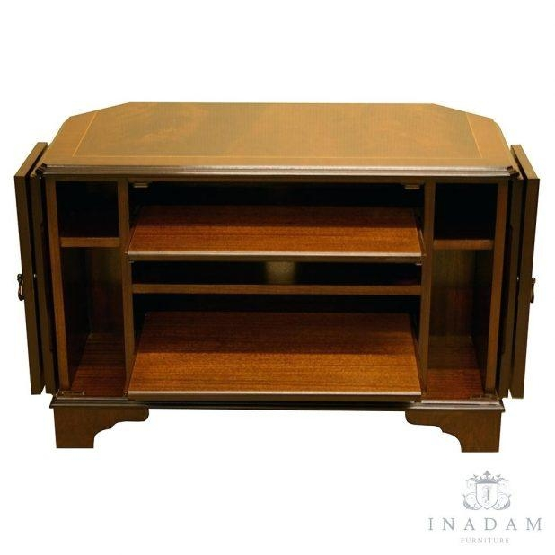 Articles With Dark Oak Effect Tv Stand Tag: Excellent Dark Oak Tv In Newest Oak Effect Corner Tv Stand (Image 2 of 20)