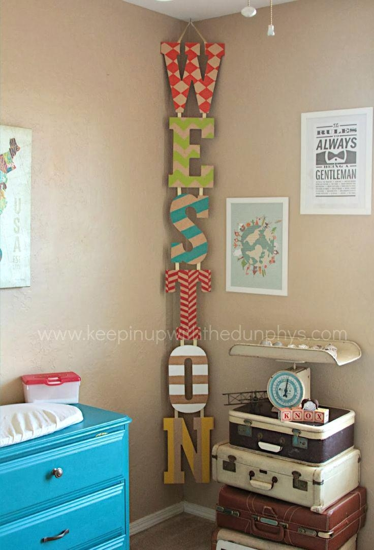 Articles With Decorative Metal Letters Wall Art Tag: Letters Wall Pertaining To Decorative Metal Letters Wall Art (Image 1 of 20)