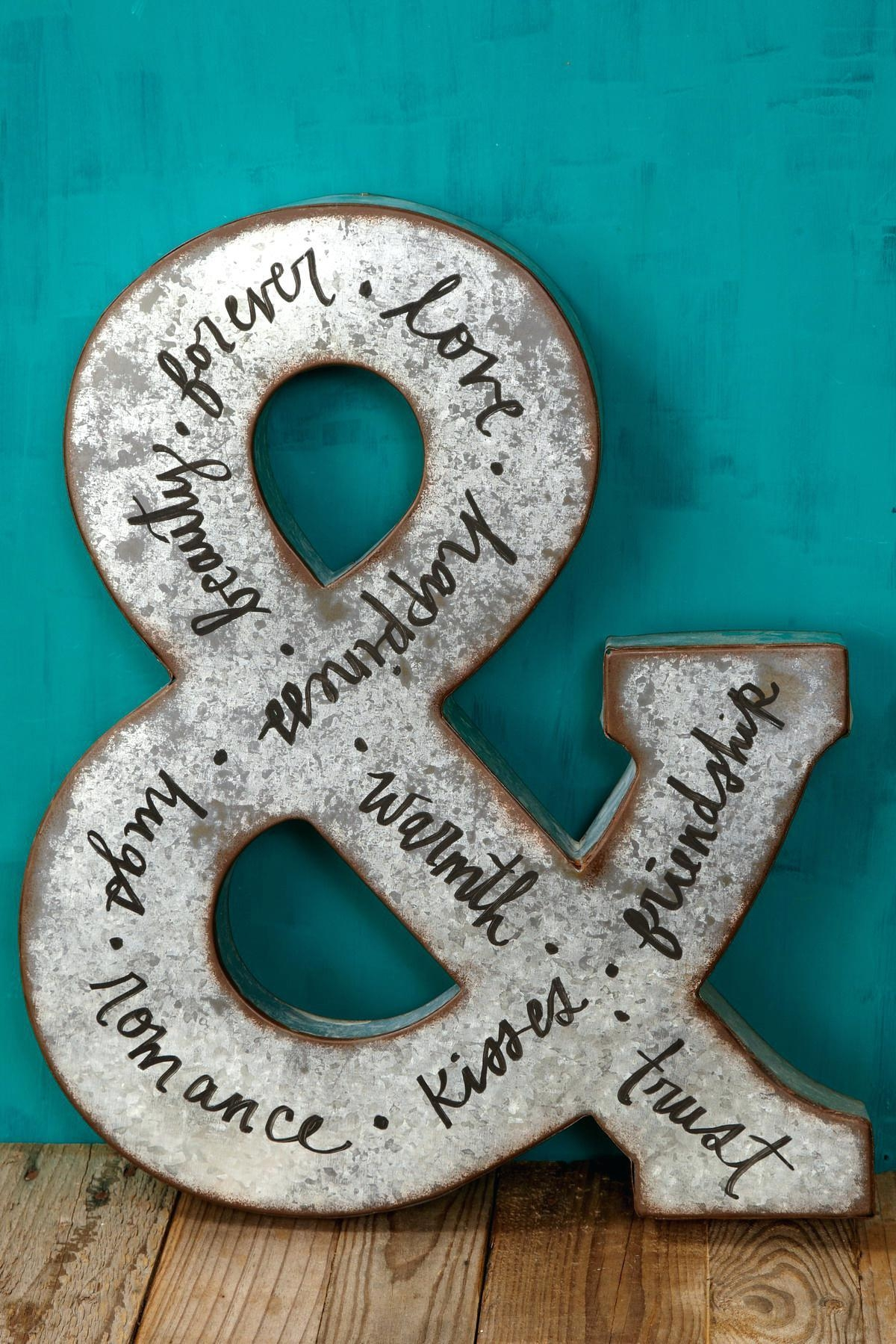 Articles With Decorative Metal Letters Wall Art Tag: Letters Wall With Decorative Metal Letters Wall Art (Image 3 of 20)