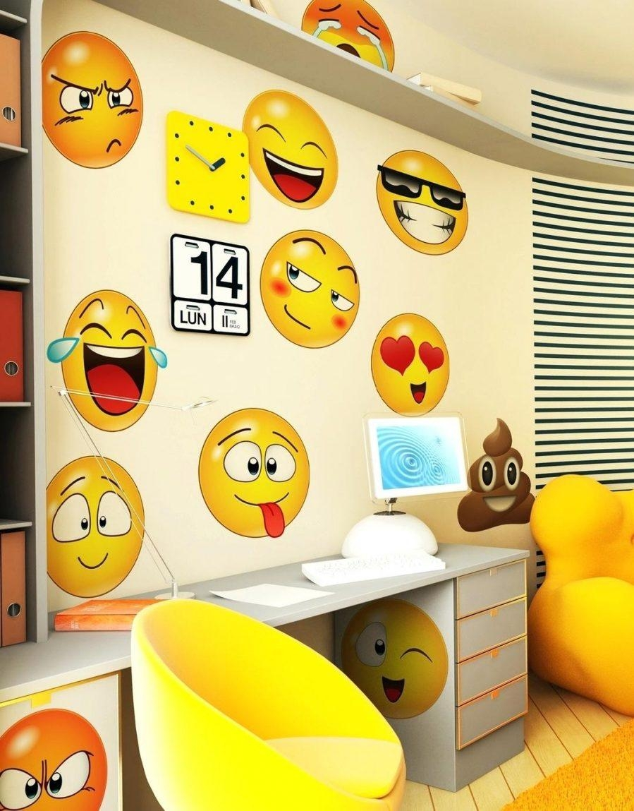 Articles With Emoji Wall Art Stickers Tag: Emoji Wall Art (View 10 of 20)