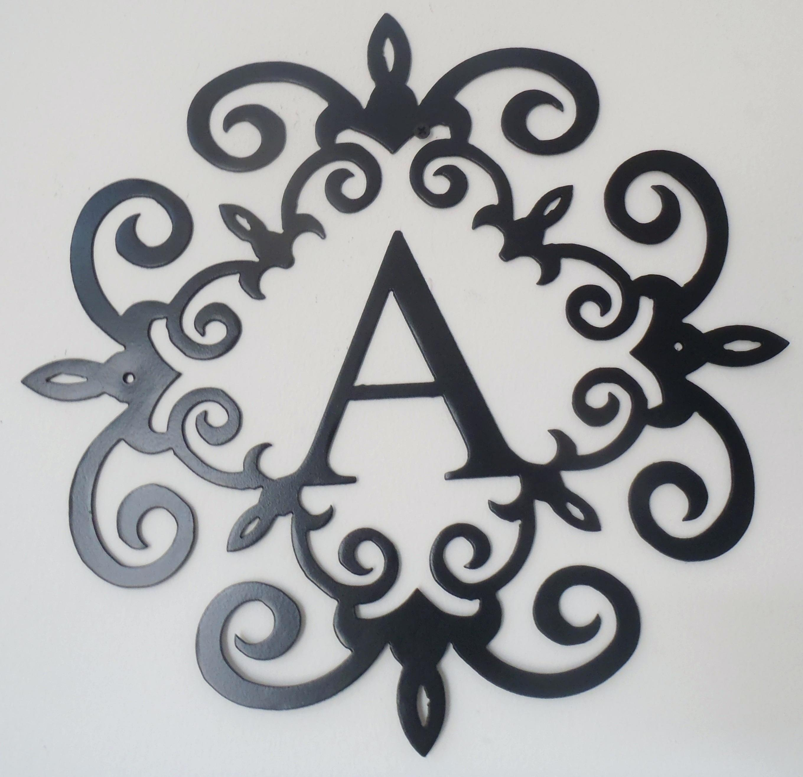 Articles With Iron Scroll Wall Art Decor Tag: Iron Scroll Wall Art Pertaining To Iron Scroll Wall Art (View 4 of 20)