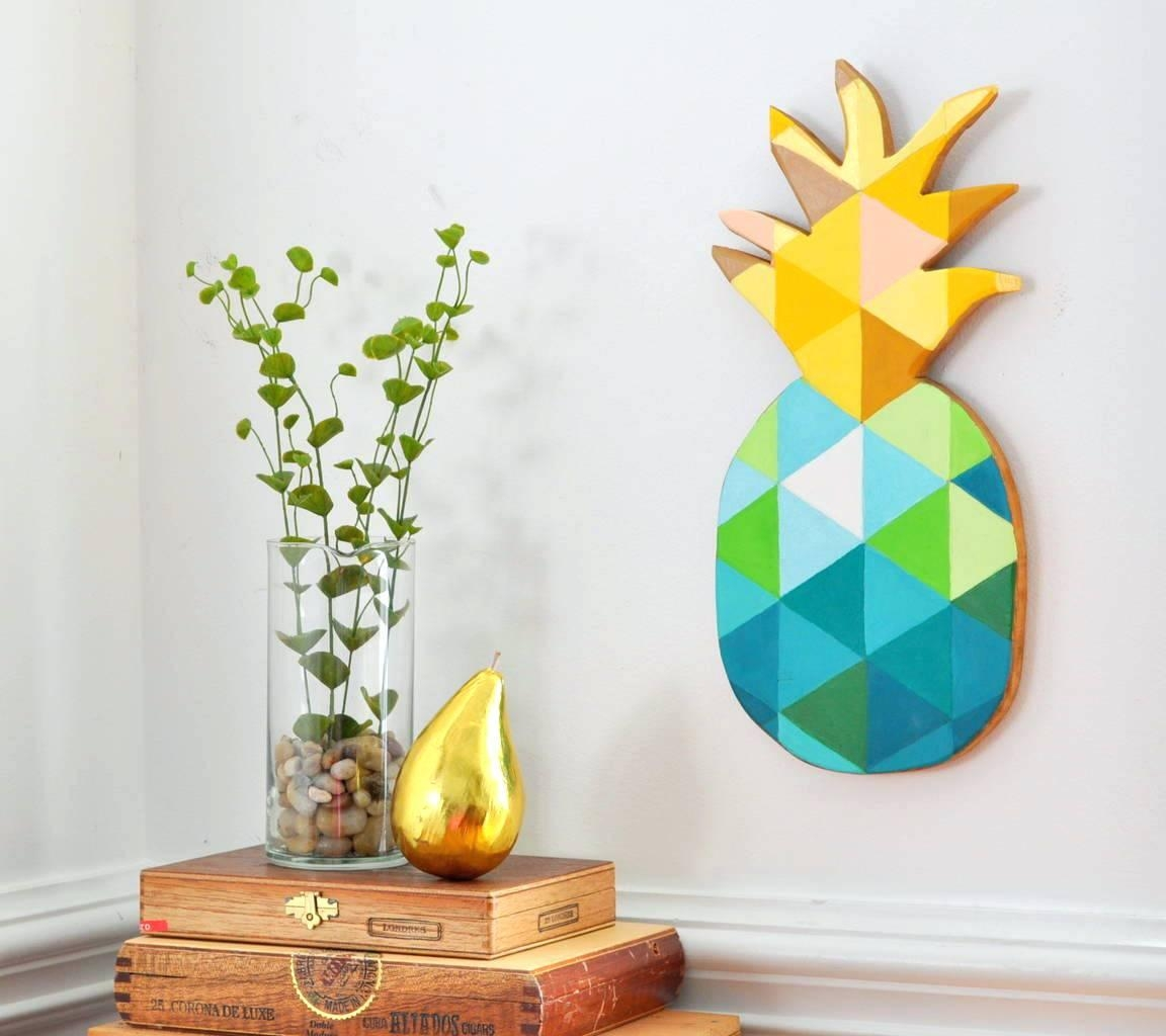 Articles With Large Pineapple Wall Art Tag: Pineapple Wall Art (Image 2 of 20)