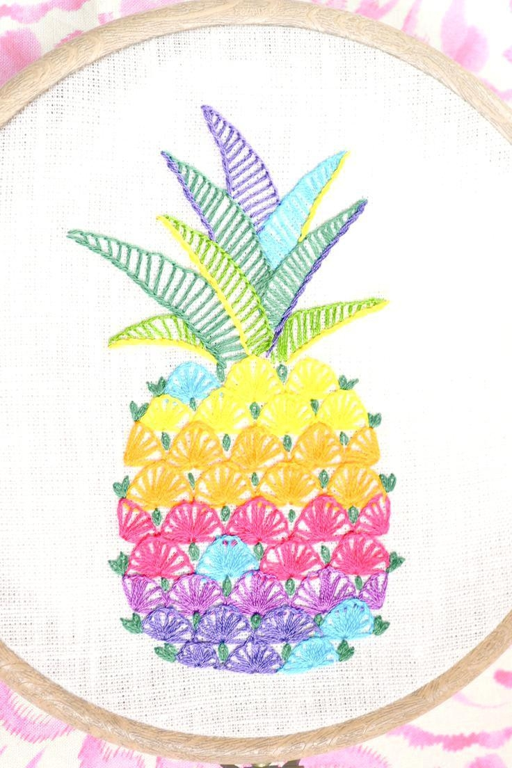 Articles With Large Pineapple Wall Art Tag: Pineapple Wall Art (Image 4 of 20)
