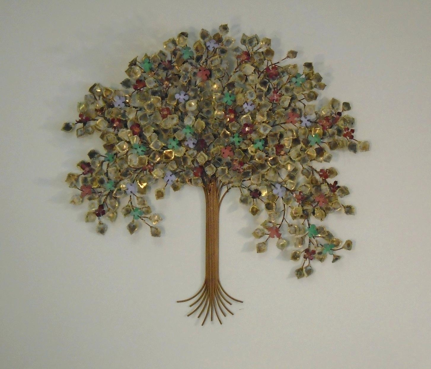 Articles With Metal Tree Wall Art Tag: Metal Wall Decoration Pertaining To Oak Tree Large Metal Wall Art (View 18 of 20)