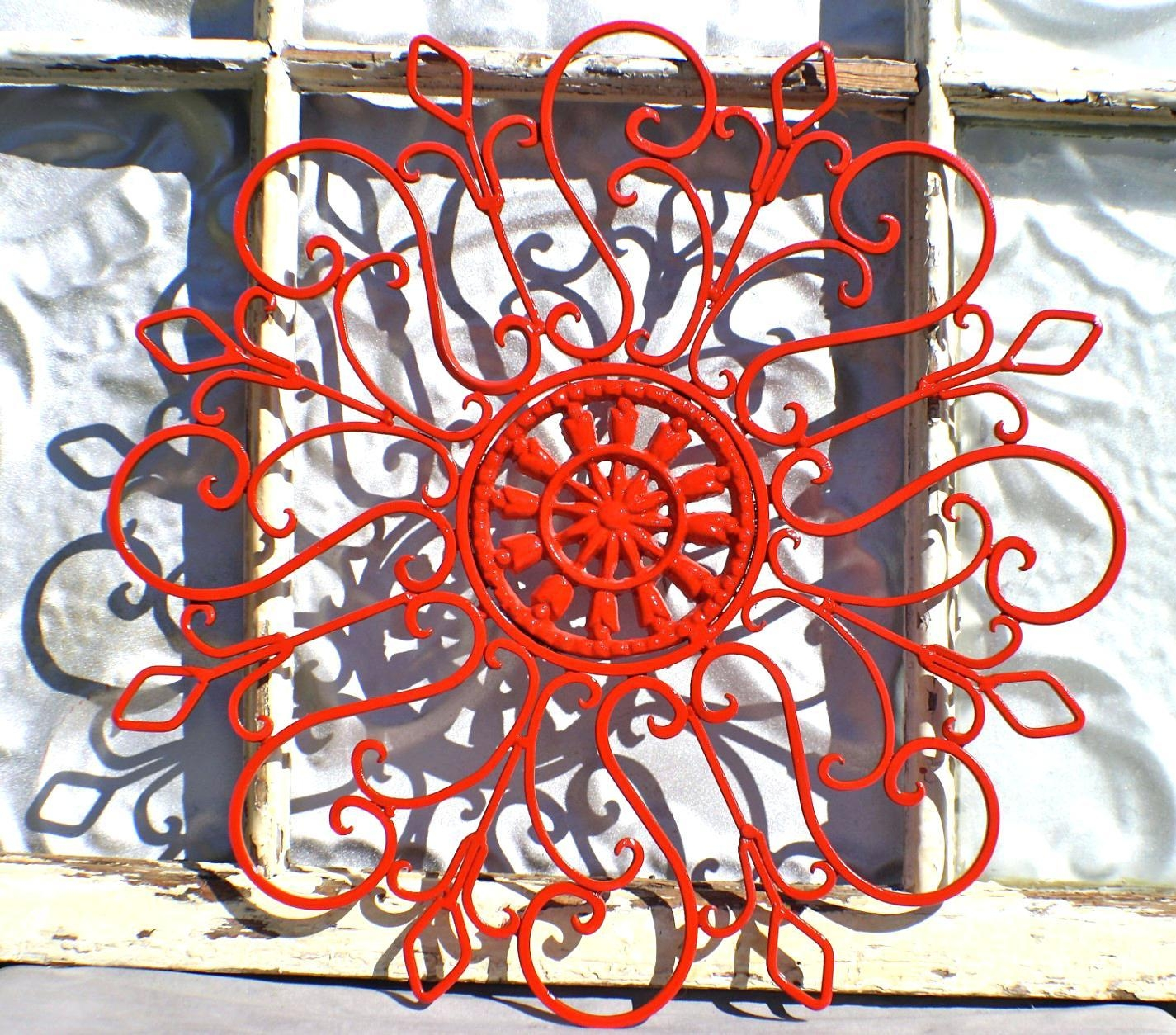 Articles With Metal Wall Art Sunset Tag: Outdoor Metal Wall Art With Regard To Auburn Wall Art (Image 4 of 20)