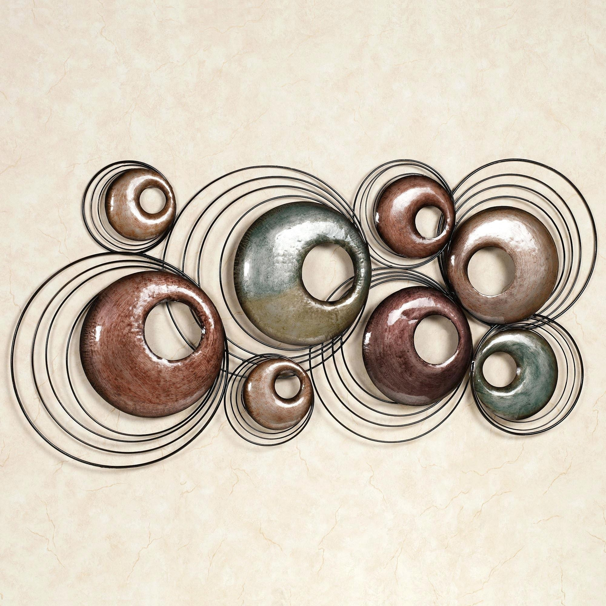 Articles With Metal Wall Art Uk Red Tag: Iron Wall Art (View 2 of 18)