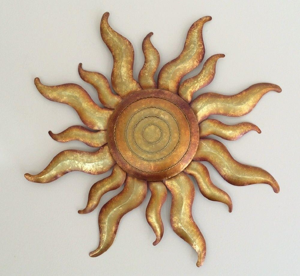 Articles With Outdoor Metal Sun Wall Art Decor Tag: Metal Outdoor Pertaining To Large Metal Sun Wall Art (View 6 of 20)