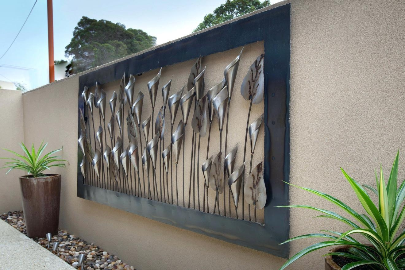 Articles With Outdoor Metal Wall Art Decor And Sculptures Tag In Decorative Outdoor Metal Wall Art (View 13 of 20)