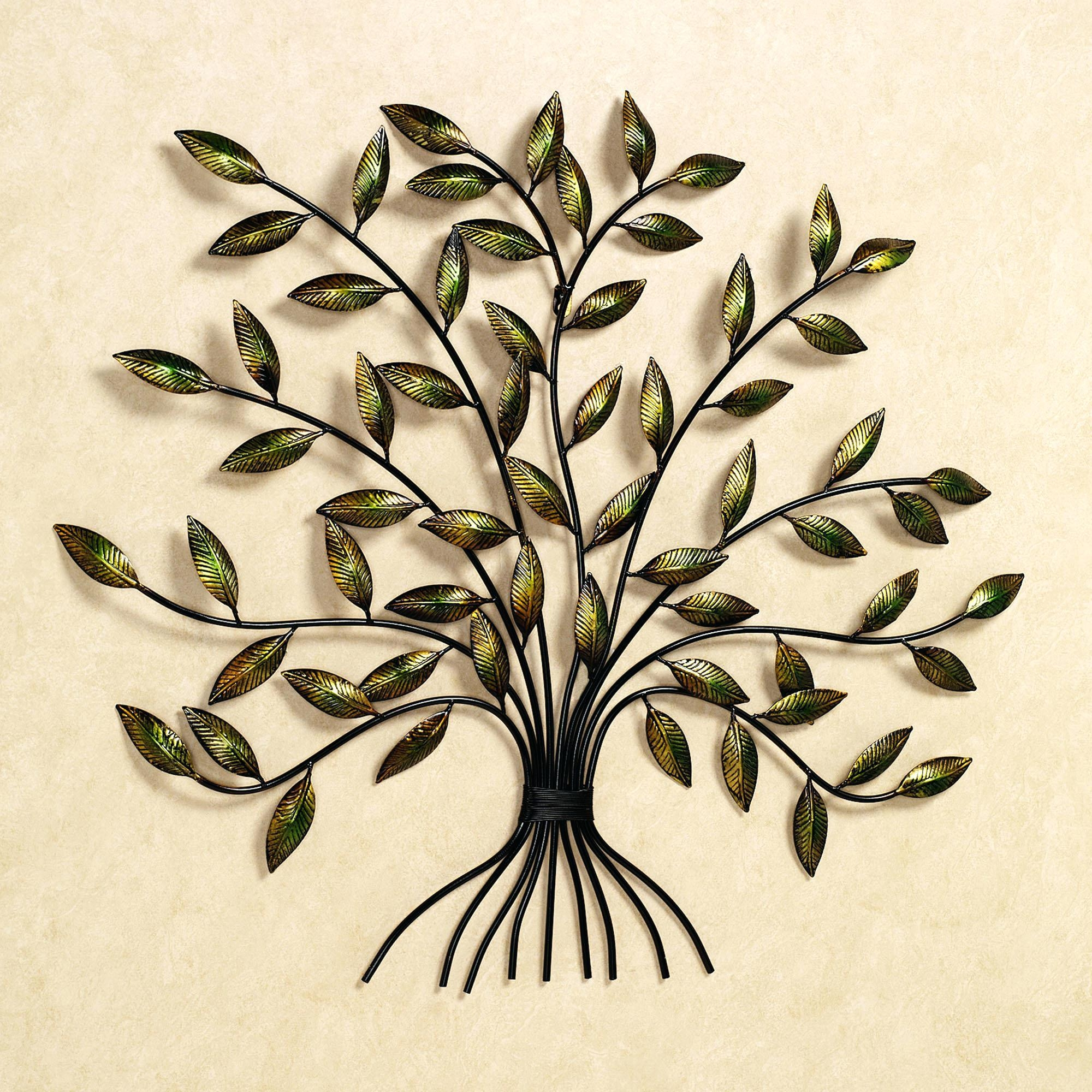 Articles With Outdoor Wall Decor Large Tag: Outdoor Wall Art In Iron Tree Wall Art (Image 2 of 20)