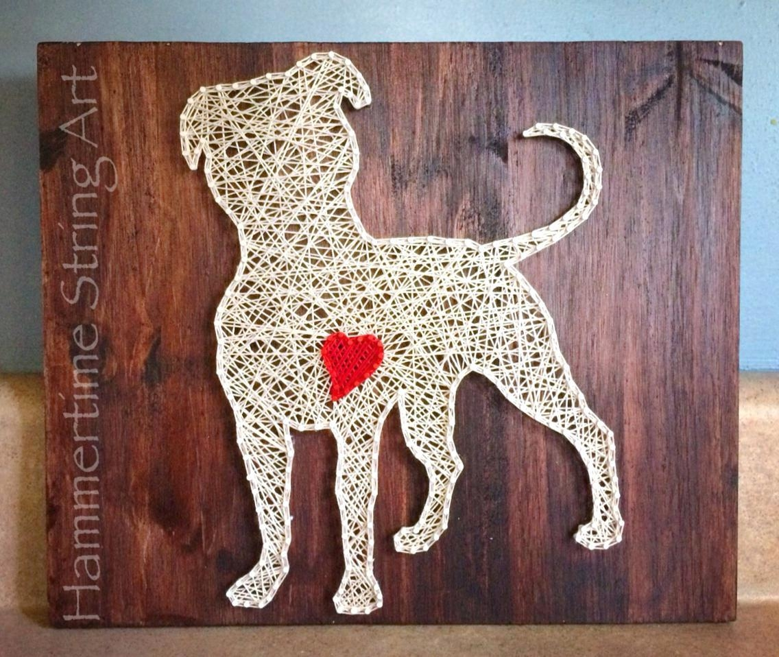 Articles With Pitbull Canvas Wall Art Tag: Pitbull Wall Art (Image 3 of 20)