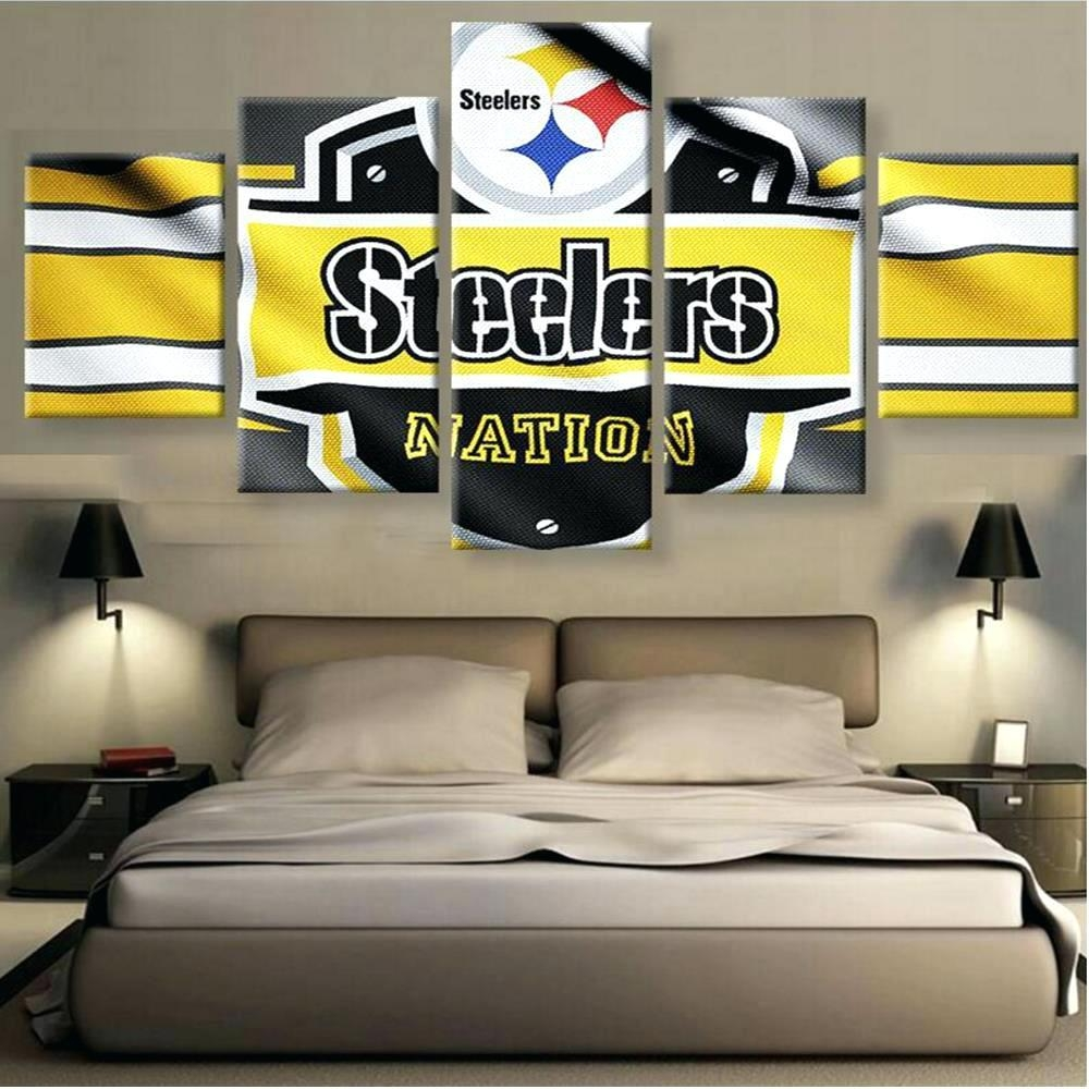 Articles With Pittsburgh Steelers Metal Wall Art Tag: Steelers With Steelers Wall Art (Image 4 of 20)