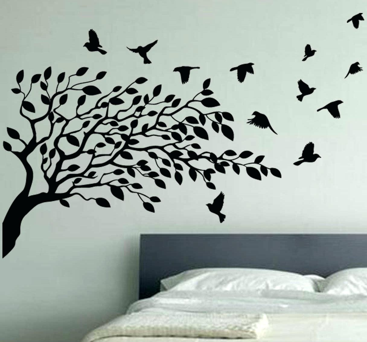 Articles With Stencil Wall Art Tree Tag: Wall Stencil Art (Image 2 of 20)