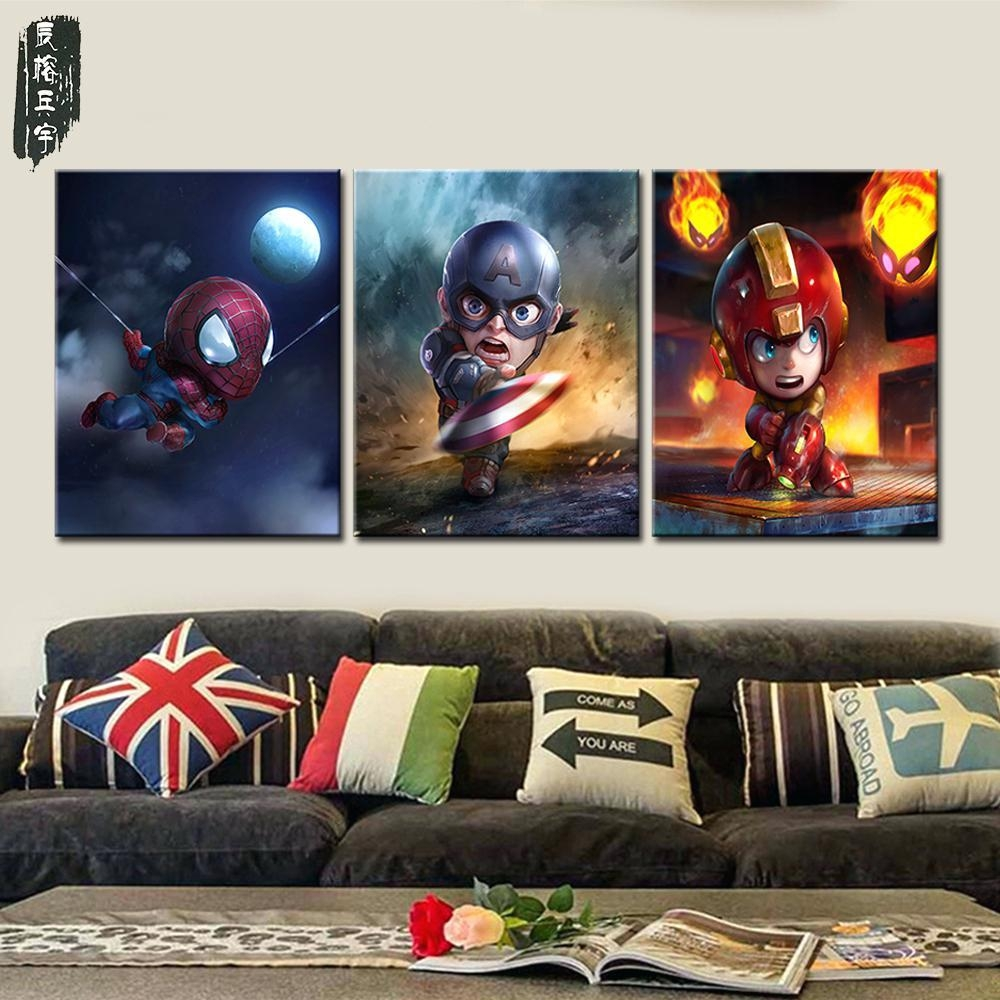 Articles With Superhero Wall Art Stickers Tag: Superhero Wall Art (Image 5 of 20)