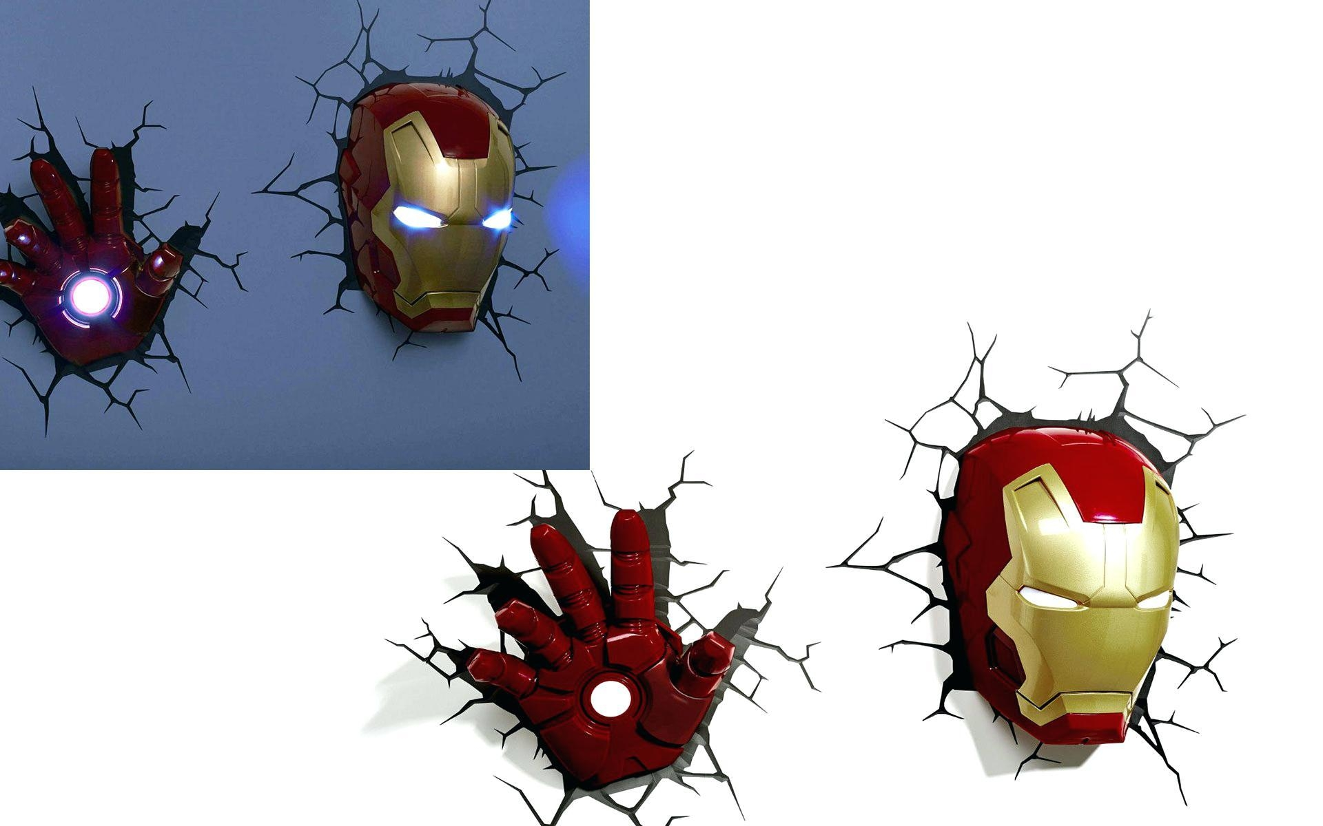 Articles With The Avengers 3D Wall Art Nightlight – Iron Man Face Intended For The Avengers 3D Wall Art Nightlight (Image 9 of 20)