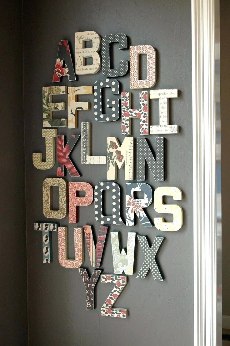 Articles With Wall Art Letters Uk Tag: Wall Art Letters (View 8 of 20)