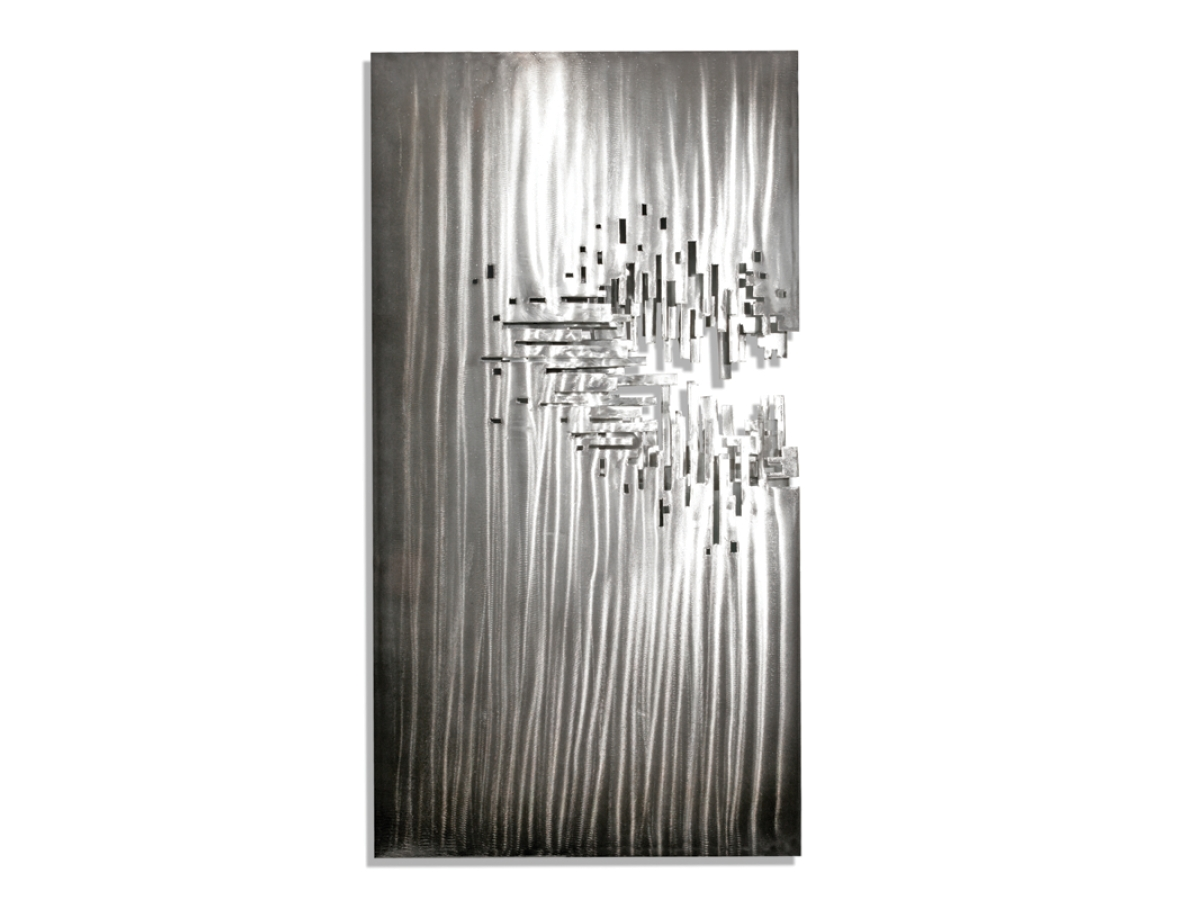 Artisan House Metal Wall Art Modern Furniture Within Metal Chandelier Wall Art (Image 4 of 20)