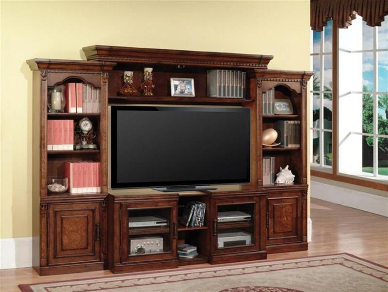 Athens 43 60 Inch Tv 4 Piece Expendable Premier Wall Unit In Pertaining To Most Up To Date 60 Inch Tv Wall Units (Image 6 of 20)