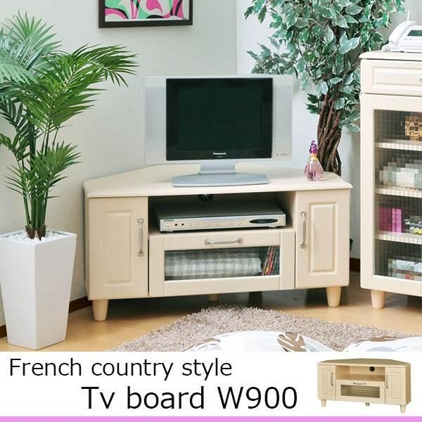 Atom Style | Rakuten Global Market: Tv Stand Lowboard Corner With Regard To Most Current French Country Tv Cabinets (Image 4 of 20)