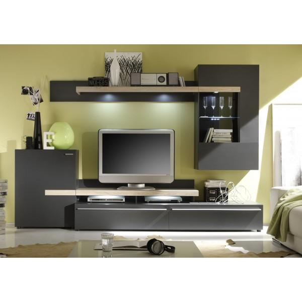 Attractive Tv Stand Unit Wall Units For Tv Stand Wall Units Design Pertaining To Best And Newest Tv Cabinets And Wall Units (Image 2 of 20)
