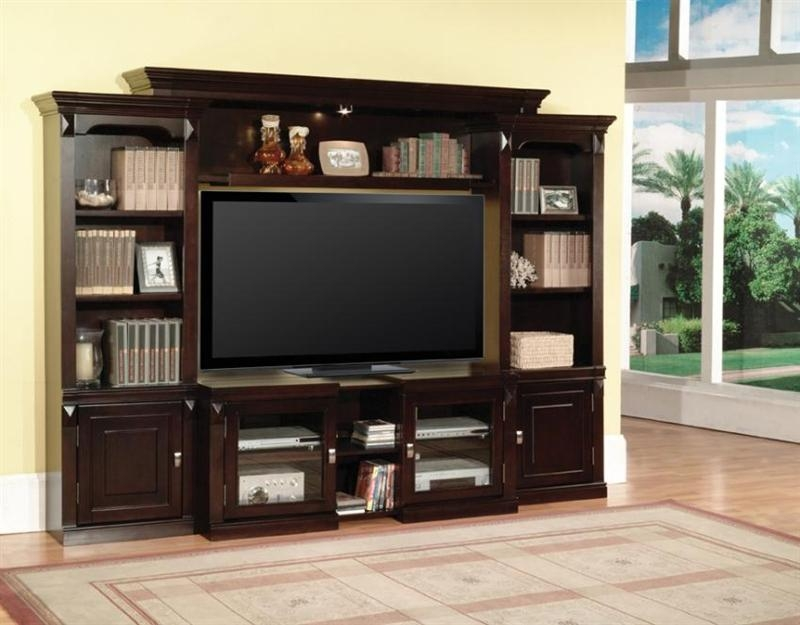 Auburn 43 60 Inch Tv 4 Piece Expendable Premier Wall Unit In Inside Newest 60 Inch Tv Wall Units (Image 7 of 20)