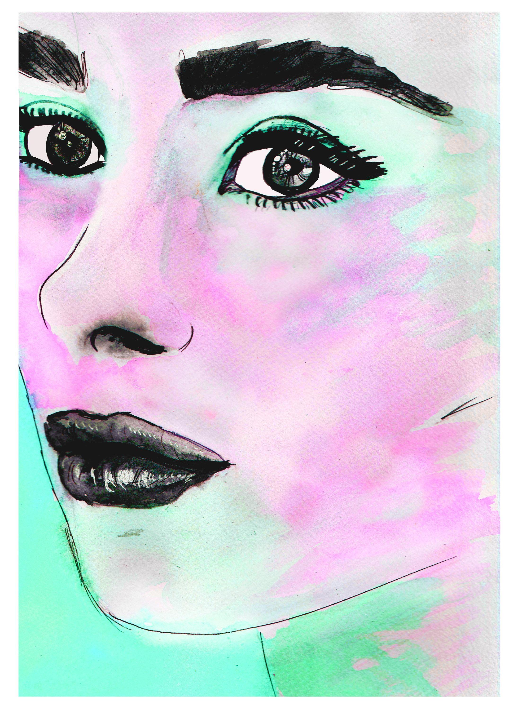 Audrey Hepburn Print Audrey Hepburn Posters Audrey Hepburn For Glamorous Audrey Hepburn Wall Art (View 9 of 20)