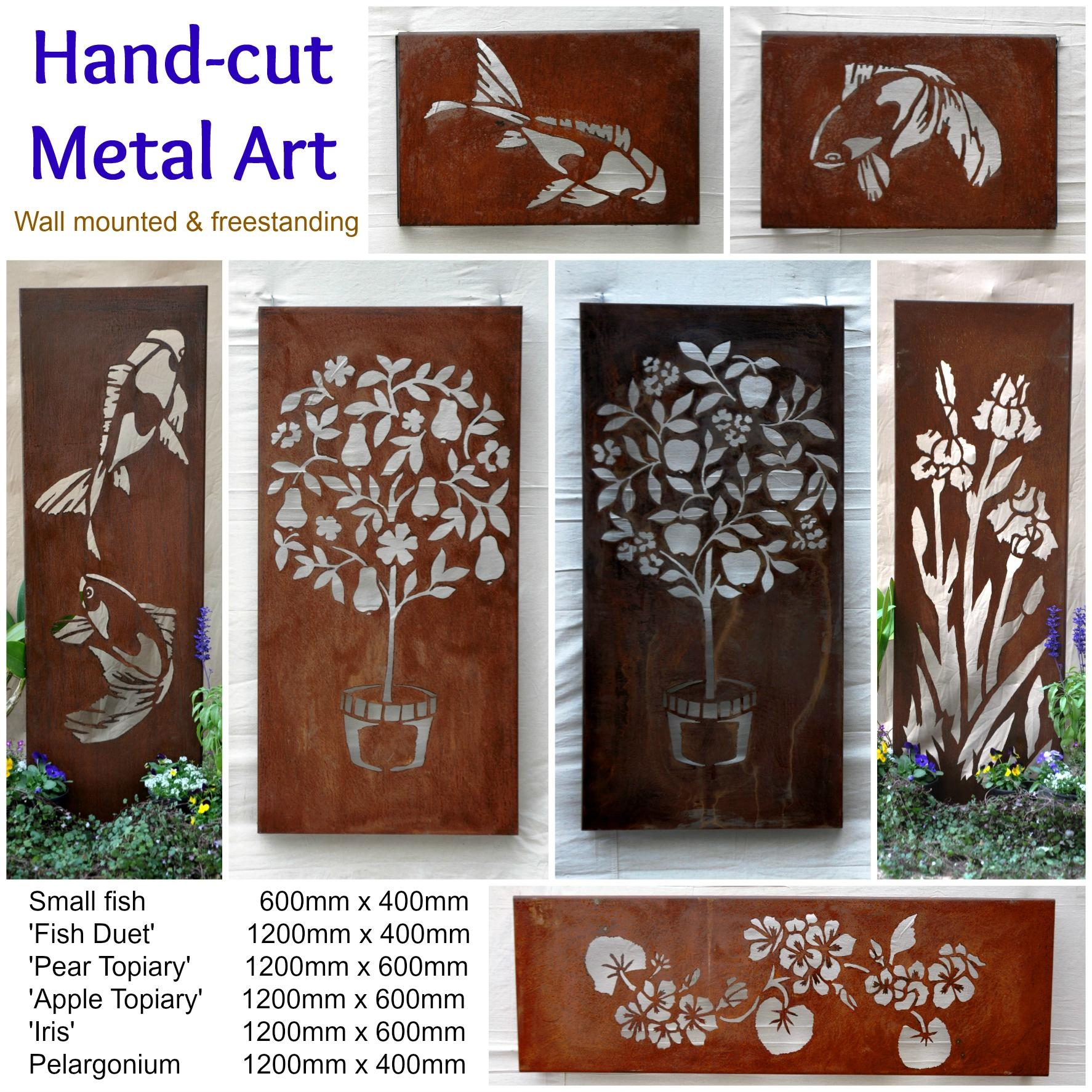 Australian Metal Artwork, Garden Art, Metal Wall Art | Farmweld With Regard To Metal Wall Art For Outdoors (View 19 of 20)