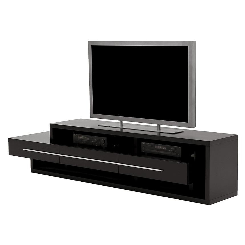Avanti Dark Oak Tv Stand | El Dorado Furniture With Most Recent Dark Wood Tv Stands (Image 1 of 20)