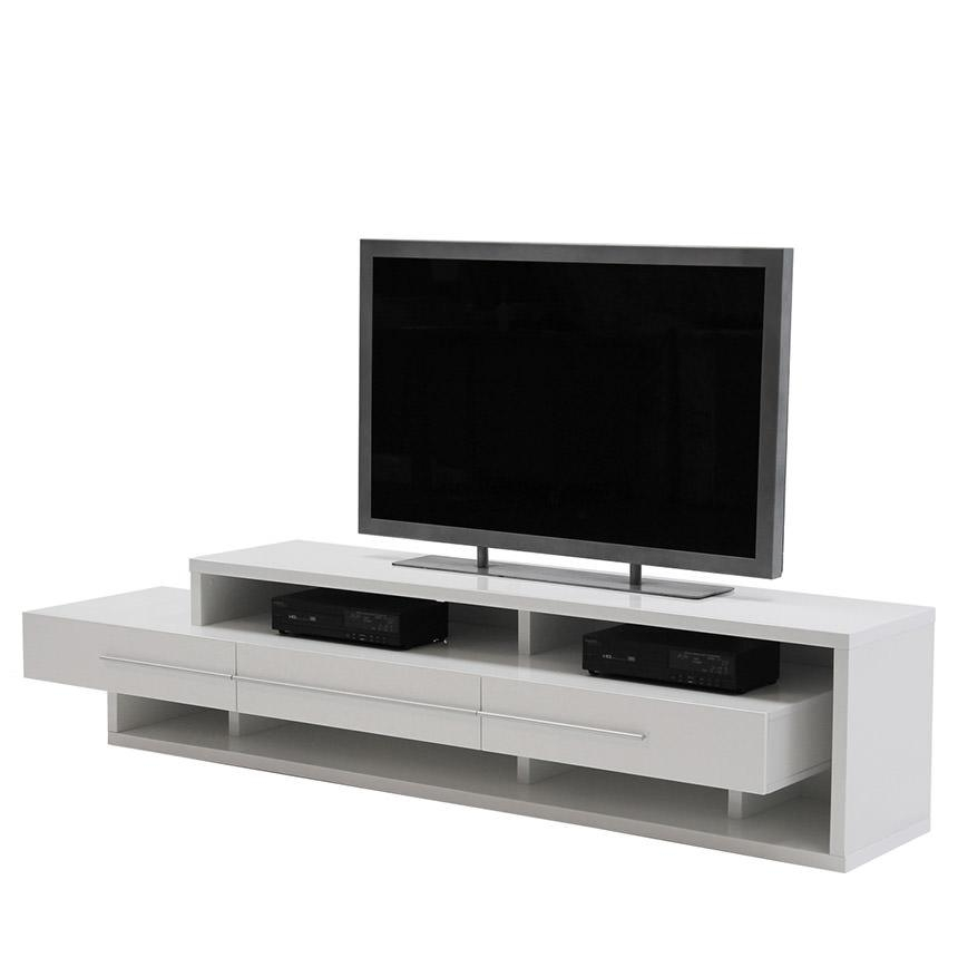 Avanti White Tv Stand | El Dorado Furniture Within Best And Newest White Tv Stands For Flat Screens (Image 1 of 20)