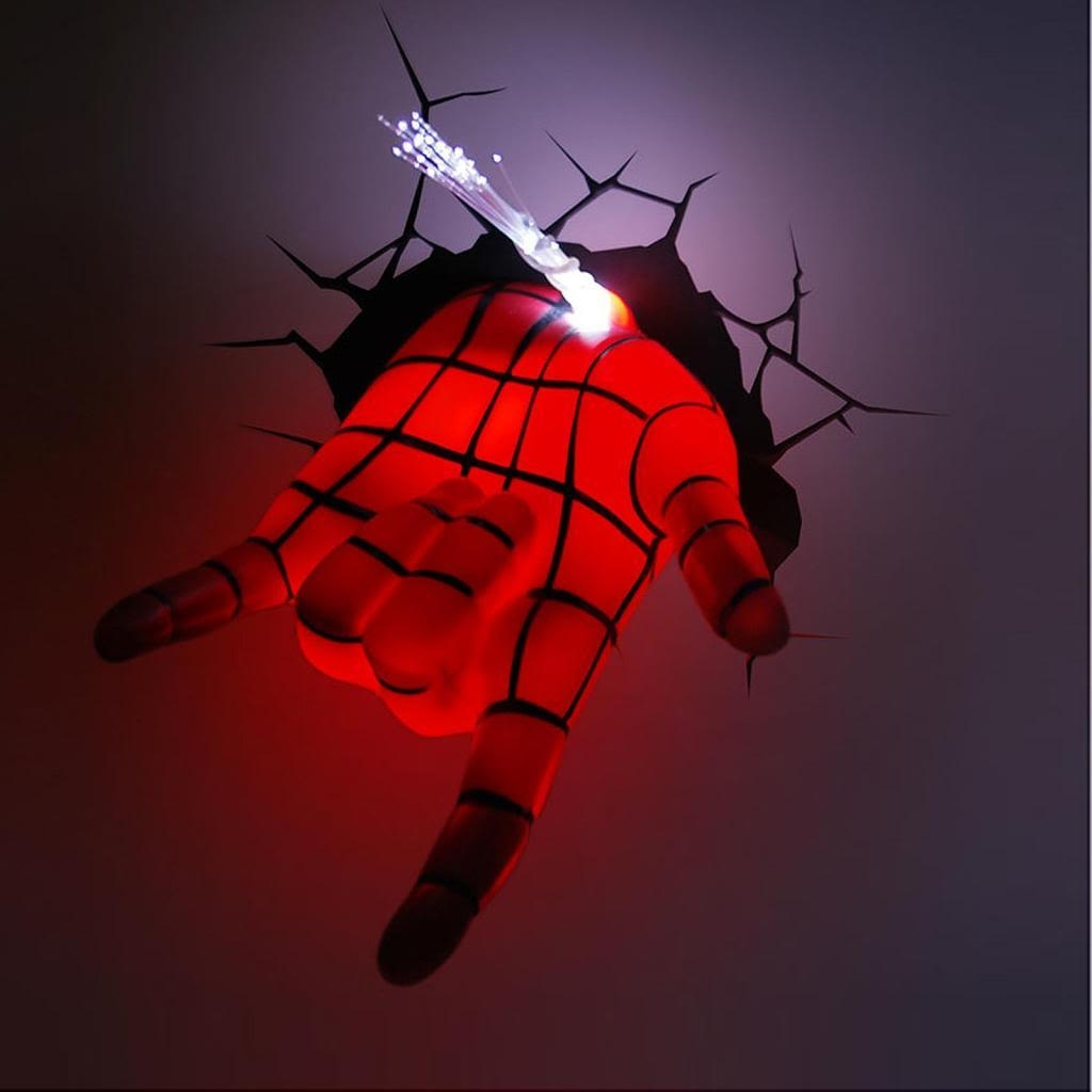Avengers 3D Wall Art Light | Home Decor Ideas Intended For The Avengers 3D Wall Art Nightlight (Image 10 of 20)