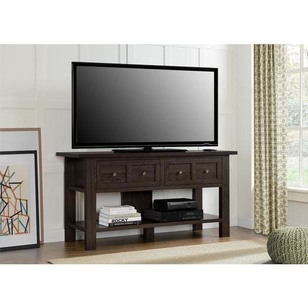 Avenue Greene Havenwood Apothecary 55 Inch Tv Stand – Free In Most Recently Released Tv Stands For 55 Inch Tv (Image 2 of 20)